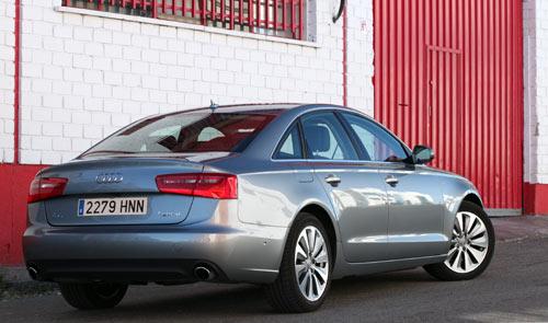 Audi A6 Hybrid (trasera)