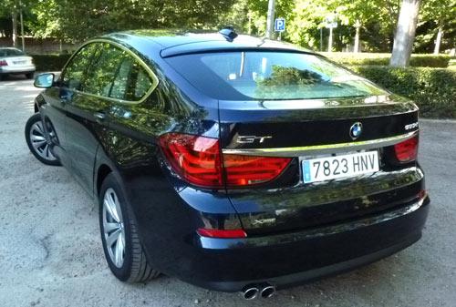 BMW Serie 5 GT (trasera)