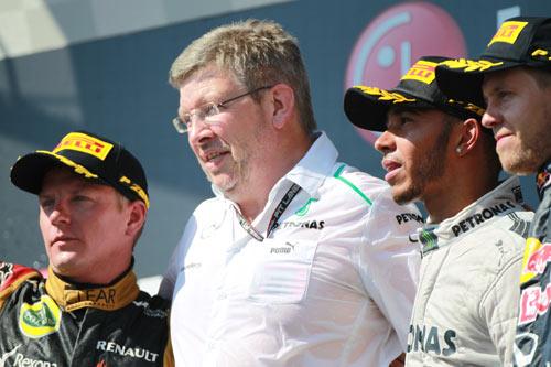 Fórmula 1 - GP Hungría - Podio