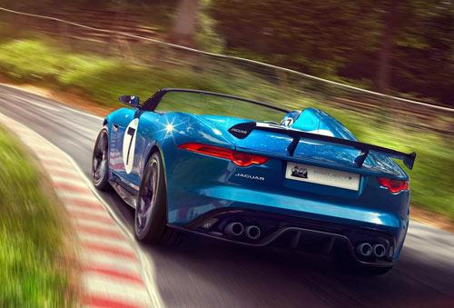 Jaguar Project 7 Concept (trasera)
