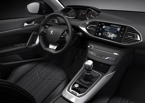 Peugeot 308 (interior)