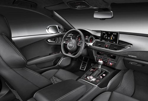 Audi RS7 Sportback (interior)