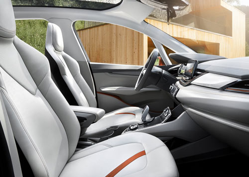 BMW Active Tourer Outdoor (interior)