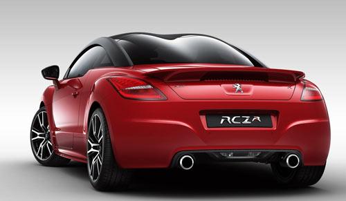 Peugeot RCZ R (trasera)