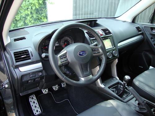 Subaru Forester (interior)