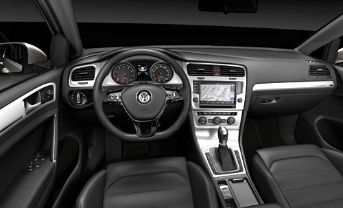 Volkswagen Golf (interior)
