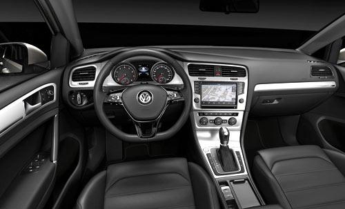 Volkswagen Golf (interior)
