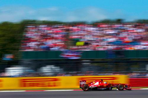 Alonso F1 Silverstone