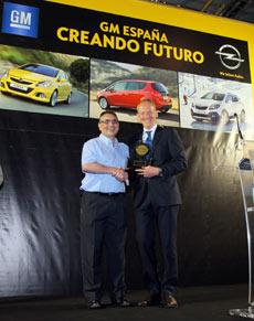 Premio Fábrica Opel Zafira