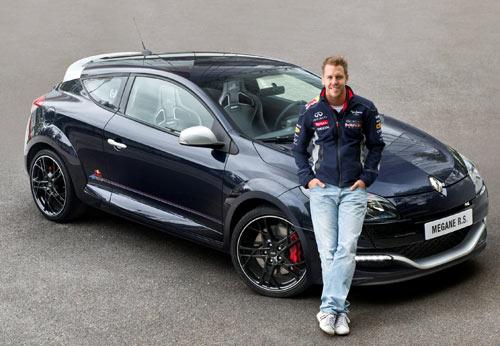 Renault Mégane RS - Sebastian Vettel