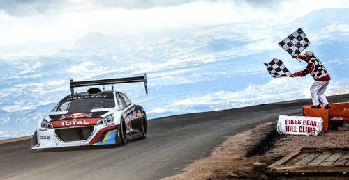 Sebastian Loeb - Peugeot 208 Pikes Peak