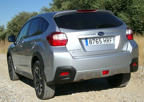Subaru XV (trasera)