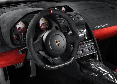 Lamborghini Gallardo (interior)