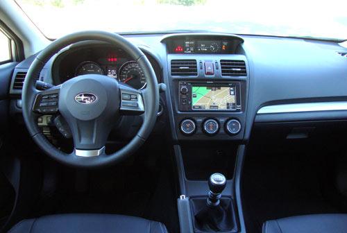 Subaru XV (interior)