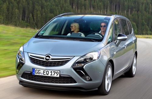 Monovolúmenes Opel