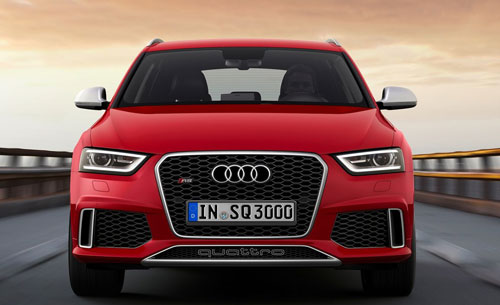 Audi RS Q3 (frontal)