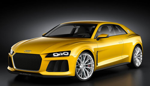 Audi Sport Quattro Concept (frontal)