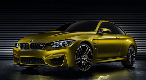 BMW M4 Concept (frontal)