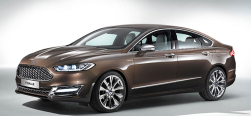 Ford Mondeo Vignale Concept (frontal)
