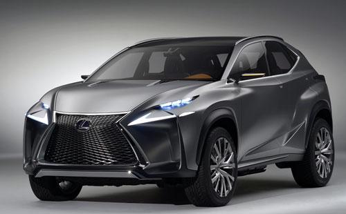 Lexus LF-NX (frontal)