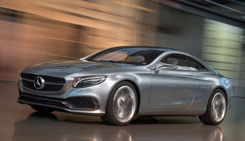 Mercedes-Benz Clase S Coupé Concept (frontal)