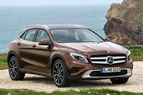 Mercedes-Benz GLA (frontal)