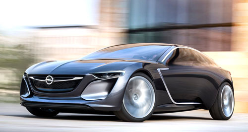 Opel Monza Concept (frontal)