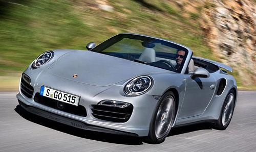 Porsche 911 Cabriolet (frontal)