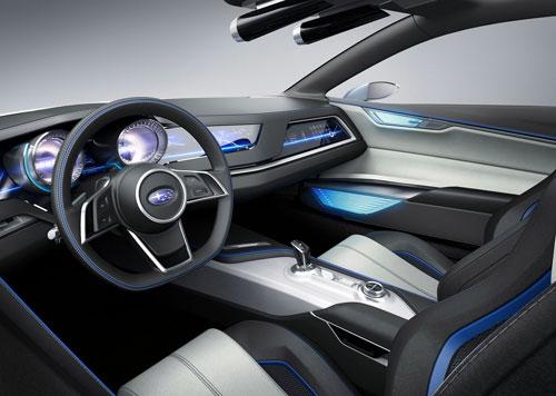 Subaru Viziv (interior)