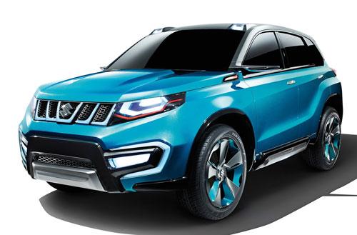 Suzuki iV-4 Concept (frontal)