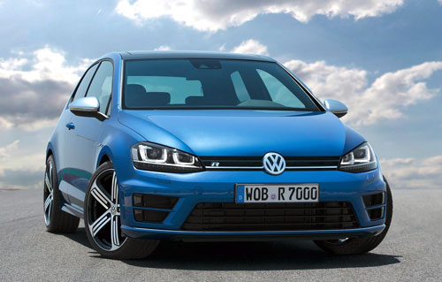 Volkswagen Golf R (frontal)