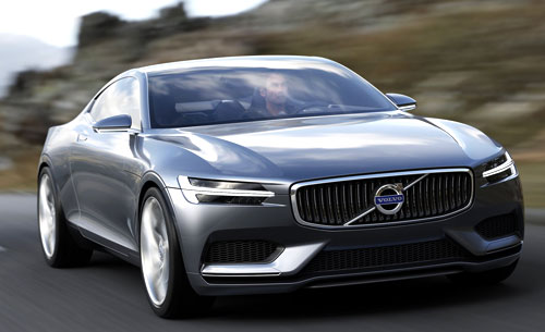 Volvo Coupé Concept (frontal)