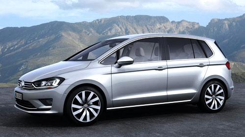 VW Golf Sportsvan (frontal)