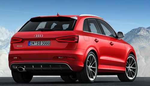 Audi RS Q3 (trasera)