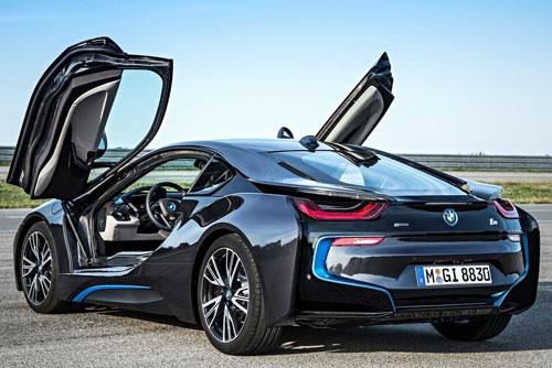 BMW i8 (trasera)