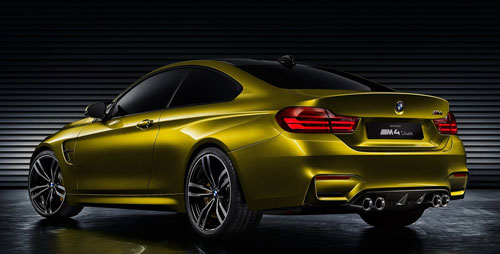 BMW M4 Concept (trasera)
