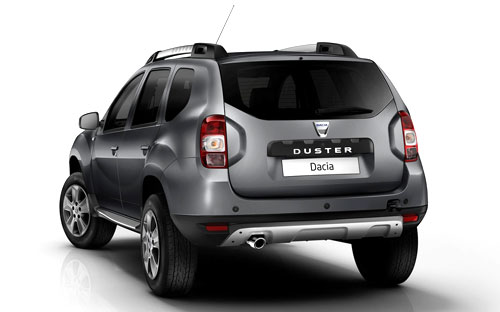 Dacia Duster (trasera)
