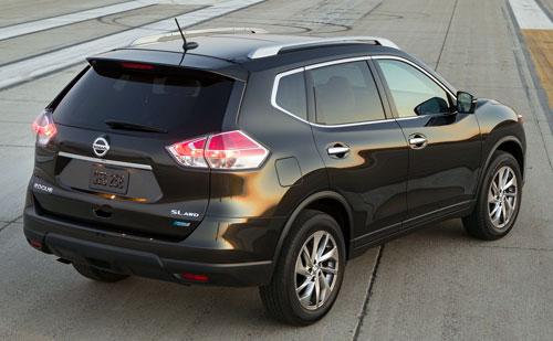 Nissan X-Trail (trasera)