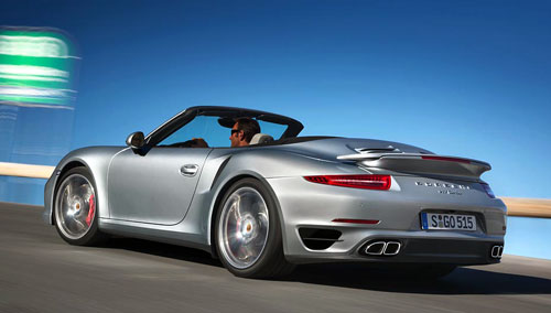 Porsche 911 Cabriolet (trasera)