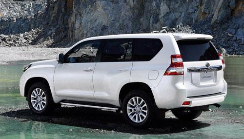 Toyota Land Cruiser (trasera)