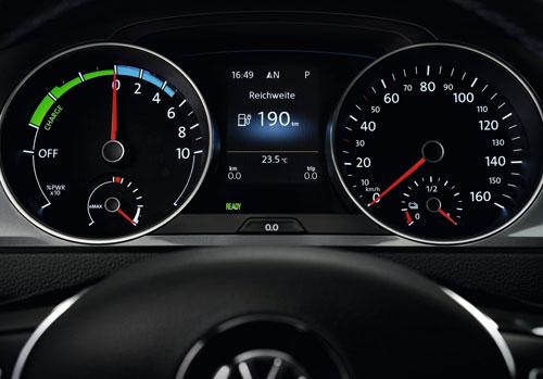 Volkswagen e-Up! (tacómetro)