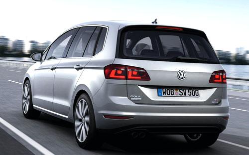 VW Golf Sportsvan (trasera)