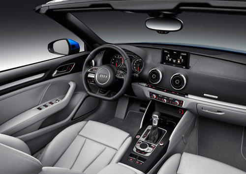 Audi A3 Cabrio (interior)