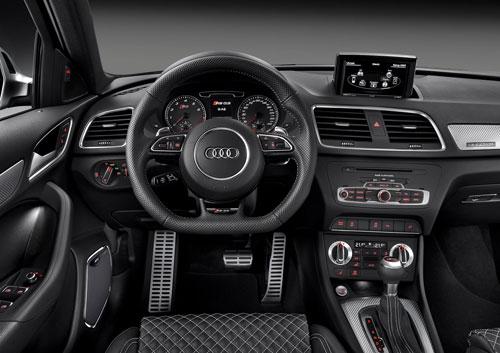 Audi RS Q3 (interior)