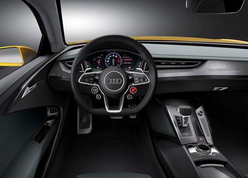 Audi Sport Quattro Concept (interior)