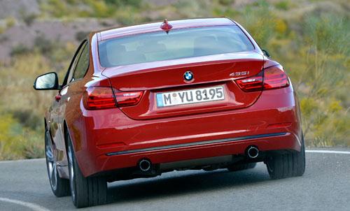 BMW Serie 4 Coupé (trasera)