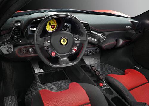 Ferrari 458 Speciale (interior)