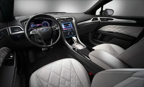 Ford Mondeo Vignale Concept (interior)
