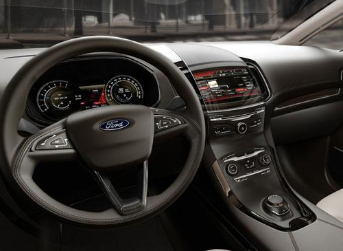 Ford S-Max (interior)