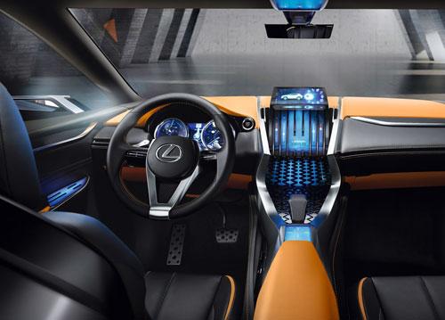 Lexus LF-NX (interior)